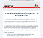 Extended obsolescence management at Kuttig Electronic